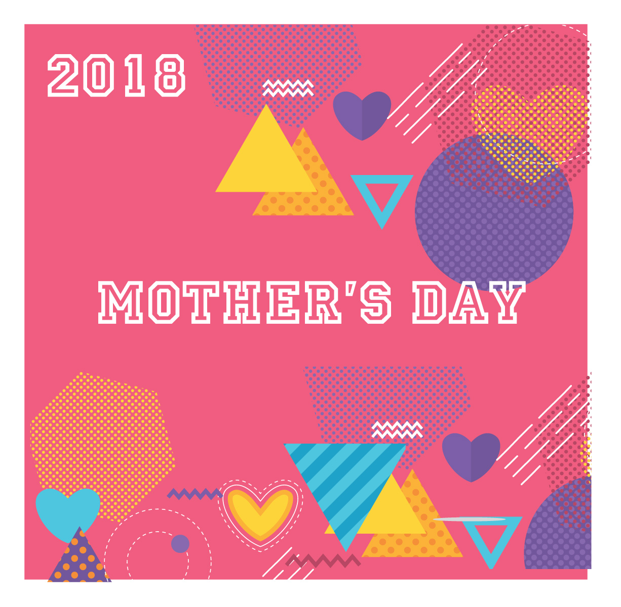 Mother's Day – Yellow 2018