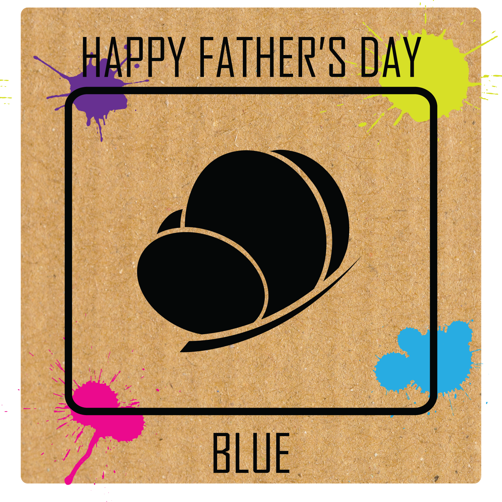 Father's Day Blue 2018