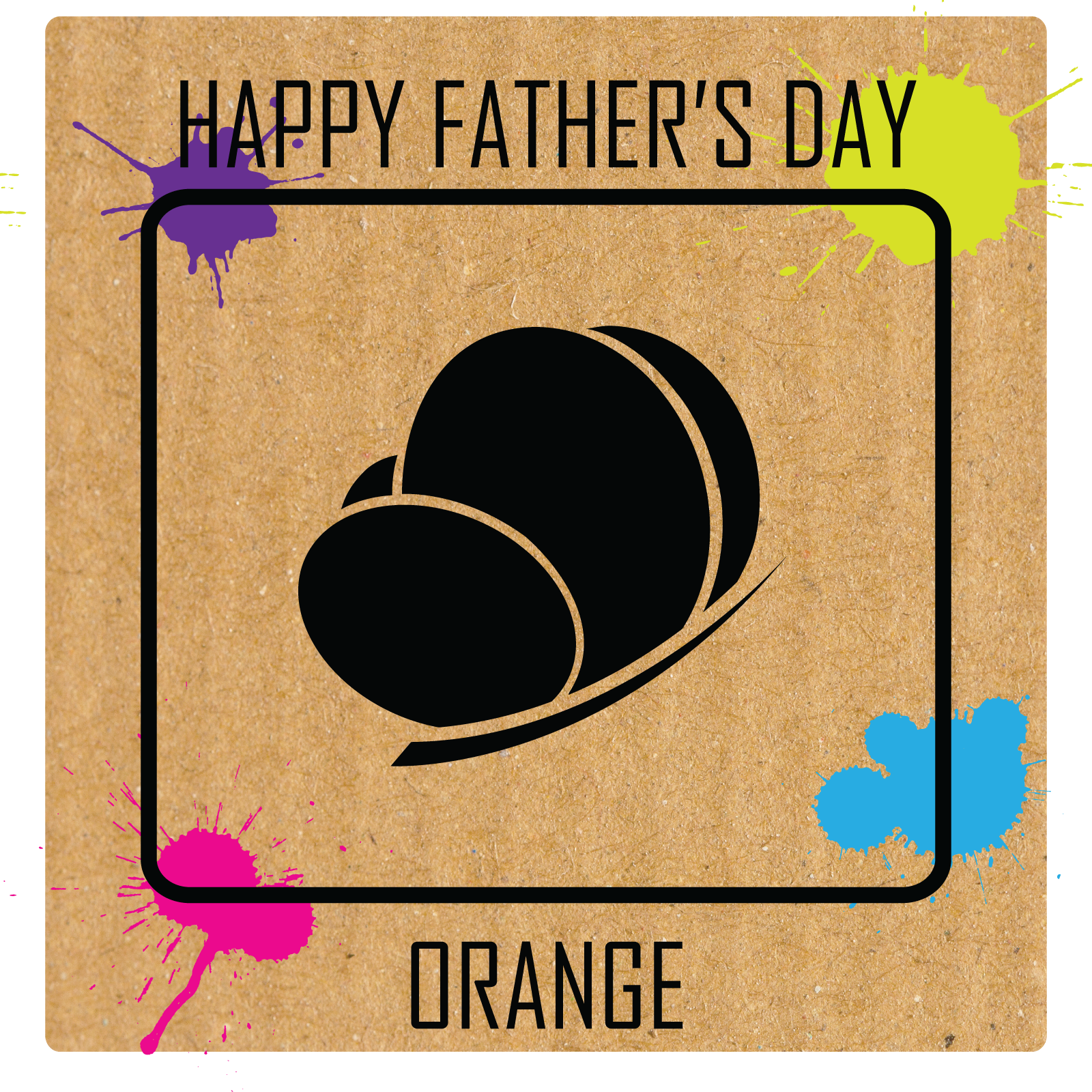 Father's Day Orange 2018